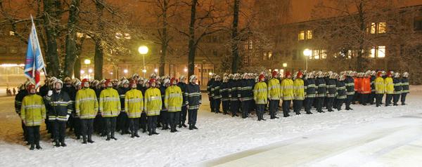 Bataillon au rapport 2009